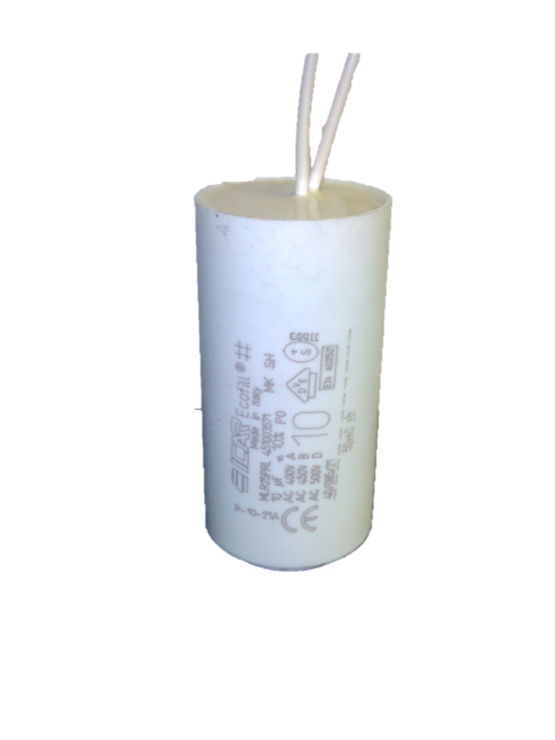 ICAR 10uf Capacitor Fly Lead