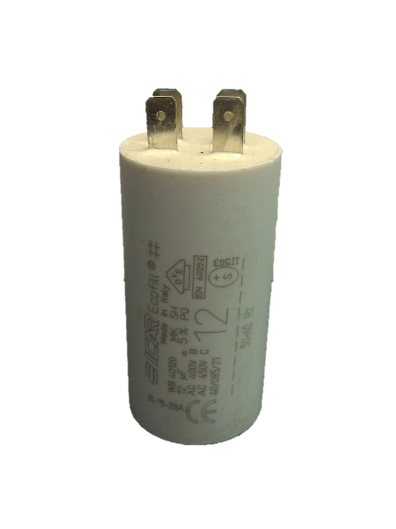ICAR 12uf Capacitor Quick Connect