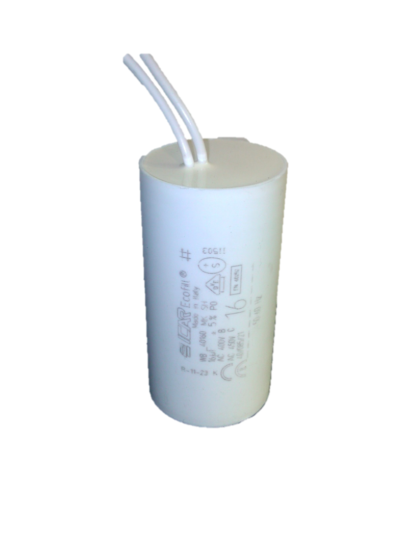ICAR 16uf Capacitor Fly Lead