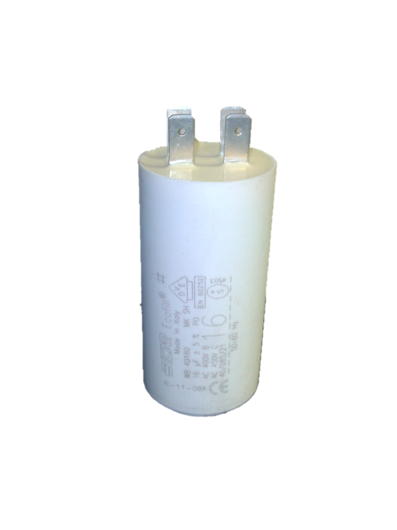 ICAR 16uf Capacitor Quick Connect