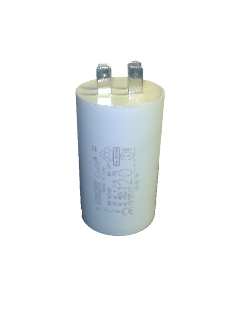 ICAR 20uf Capacitor Quick Connect