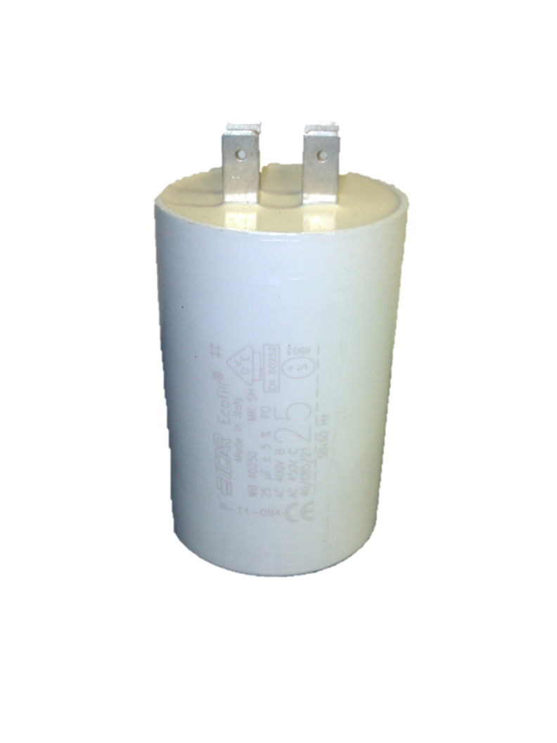 ICAR 25uf Capacitor Quick Connect