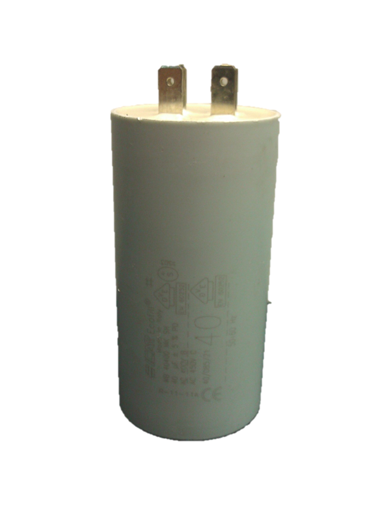 ICAR 40uf Capacitor Quick Connect